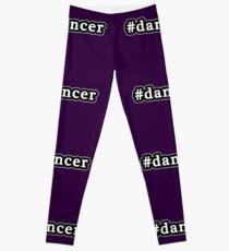 Dancer - Hashtag - Black & White Leggings
