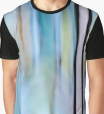 Buttery Lines (Abstract Blue) Graphic T-Shirt