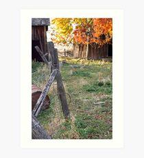 """Abandoned Ranch House"" Art Print"