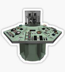 Hartnell's TARDIS Console Sticker