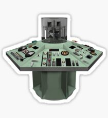 Hartnell's TARDIS Console Sticker
