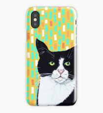Portrait of Jasper the Cat iPhone Case/Skin