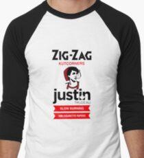 Zig zag justin trudeau Men's Baseball ¾ T-Shirt