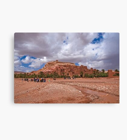 The great kasbah! Canvas Print