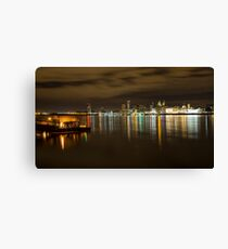 Liverpool Waterfront Canvas Print