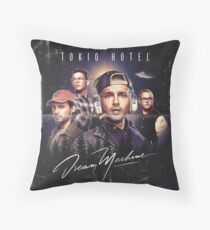 TOKIO HOTEL DREAM MACHINE ALBUM Throw Pillow