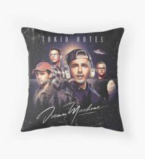 TOKIO HOTEL DREAM MACHINE ALBUM Throw Pillow