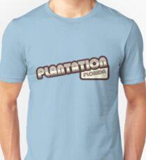 Plantation, Florida | Retro Halftone T-Shirt