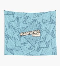 Plantation, Florida | Retro Halftone Wall Tapestry