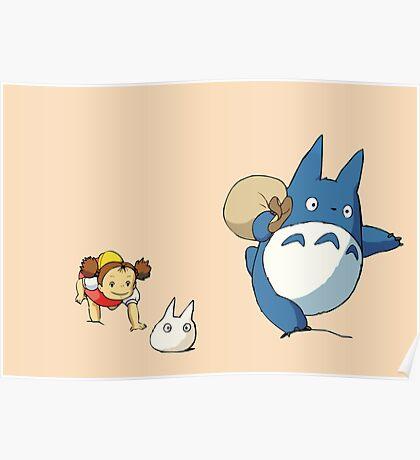My Neighbor Totoro - Run Poster