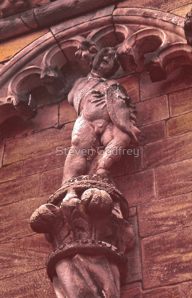 Grotesque and Column - Stirling Castle by Steven Godfrey