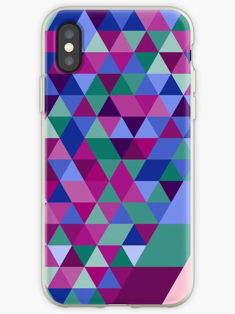 Colorful Triangle Pattern by stylebytara