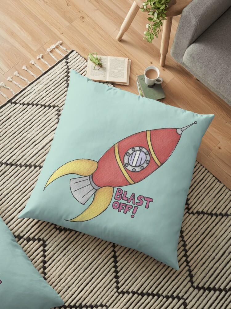 BLAST OFF! Rocket Ship by DILLIGAFM8