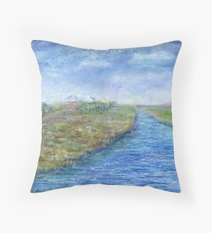 Take a stroll Throw Pillow