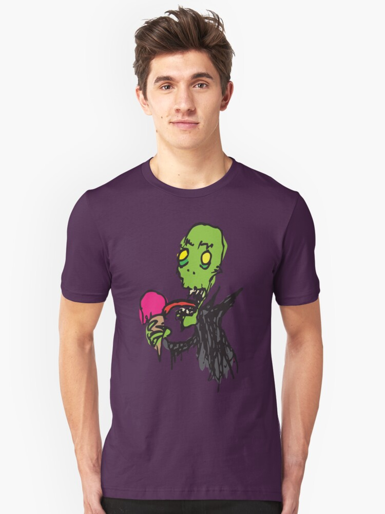 Raspberry Ghoul Unisex T-Shirt Front