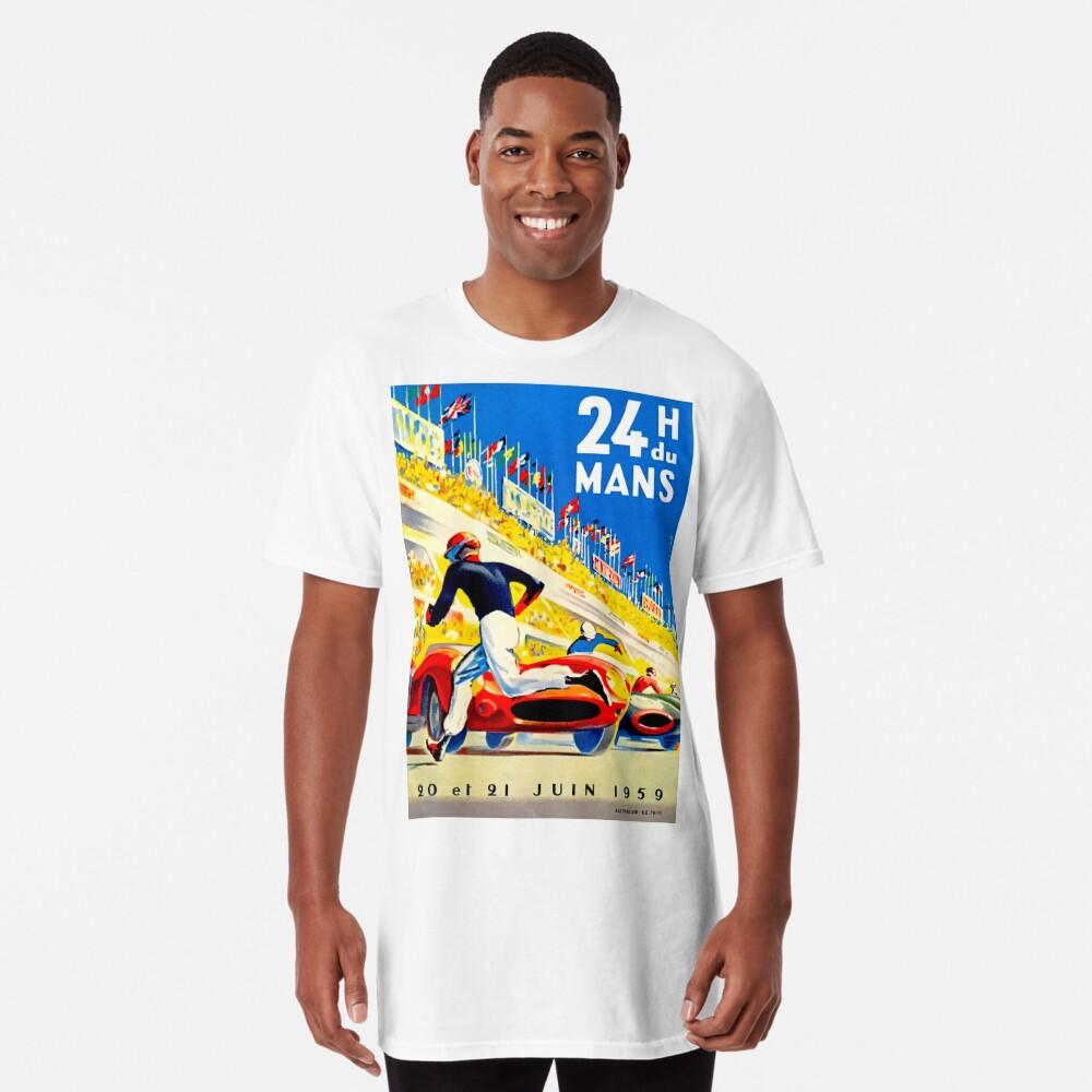 """MANS"" 24 Stunden Grand Prix Autorennen Longshirt"