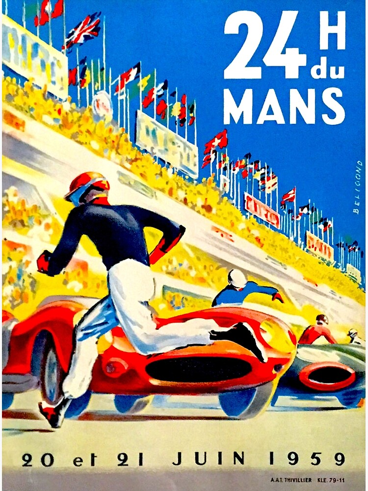 """MANS"" 24 Hour Grand Prix Auto Race by posterbobs"