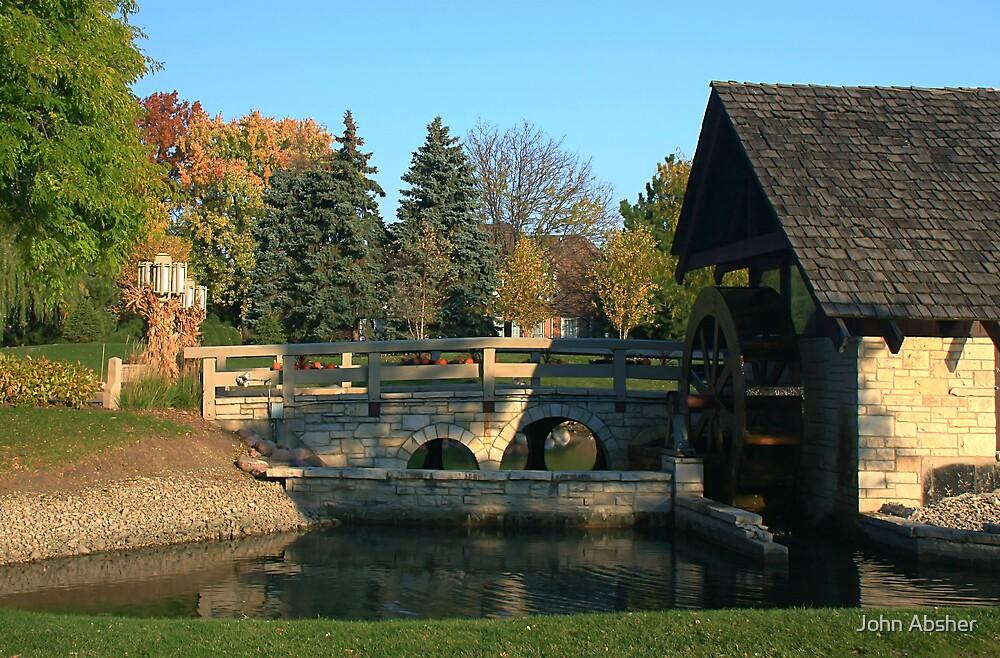 WaterWheel Bridge by John Absher