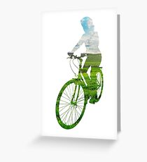 Green Transport 3 Greeting Card