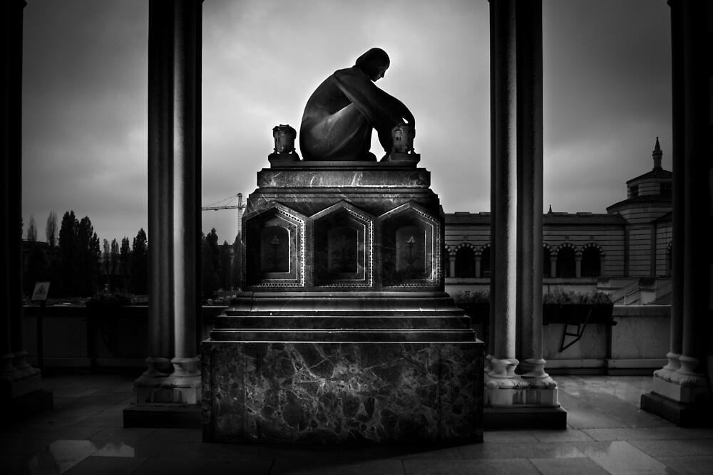 Cemetery by MiramVi