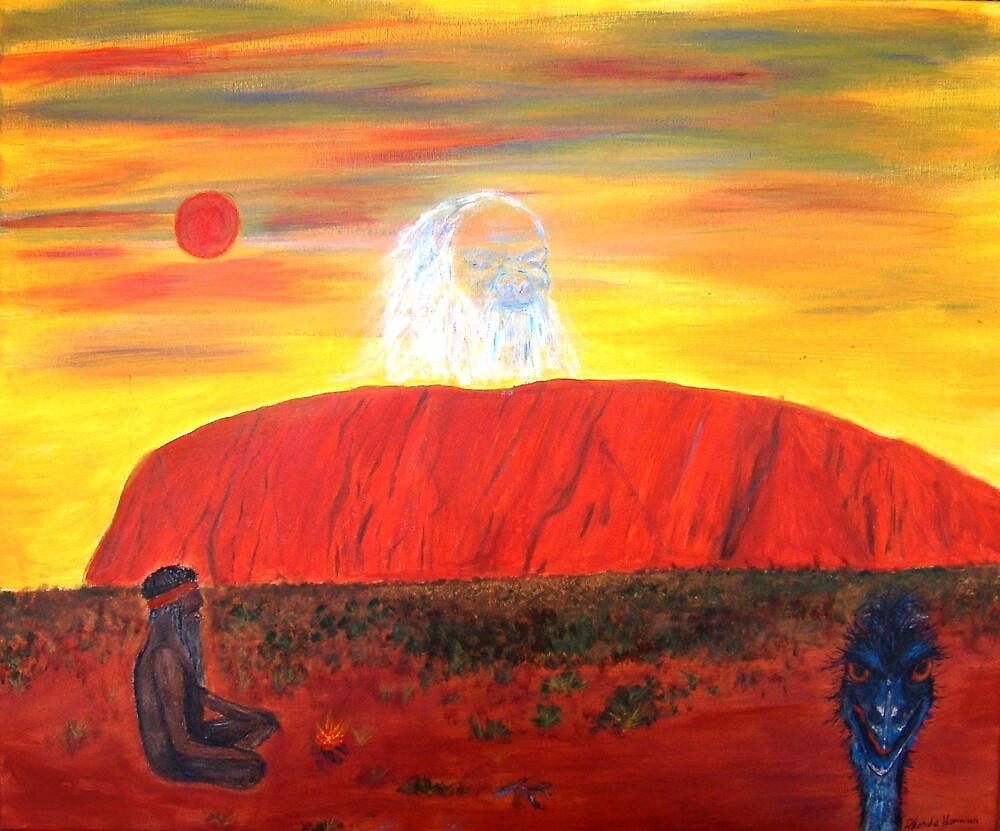 ULURU - THE HEART CENTRE OF AUSTRALIA by Rhonda Harman