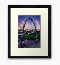 Bone Arch Framed Print