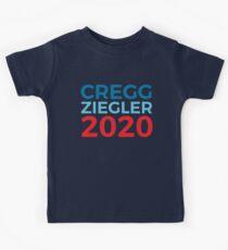 CJ Cregg Toby Ziegler / The West Wing / 2020 Election / Cregg Ziegler Kids Tee