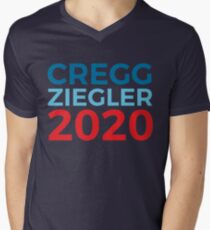 CJ Cregg Toby Ziegler / The West Wing / 2020 Election / Cregg Ziegler Men's V-Neck T-Shirt