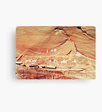 Canyon de Chelley Petroglyphs Canvas Print