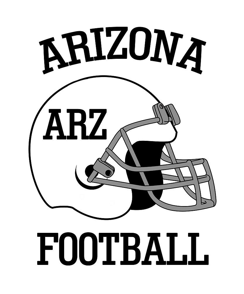 Arizona Football T-Shirt for Men and Women by AllStarMerch