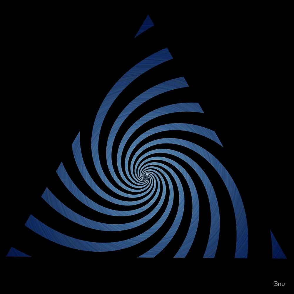 3nu spiraltri blue by -3nu-