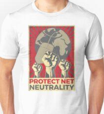 Support Net Neutrality Vintage Poster Unisex T-Shirt