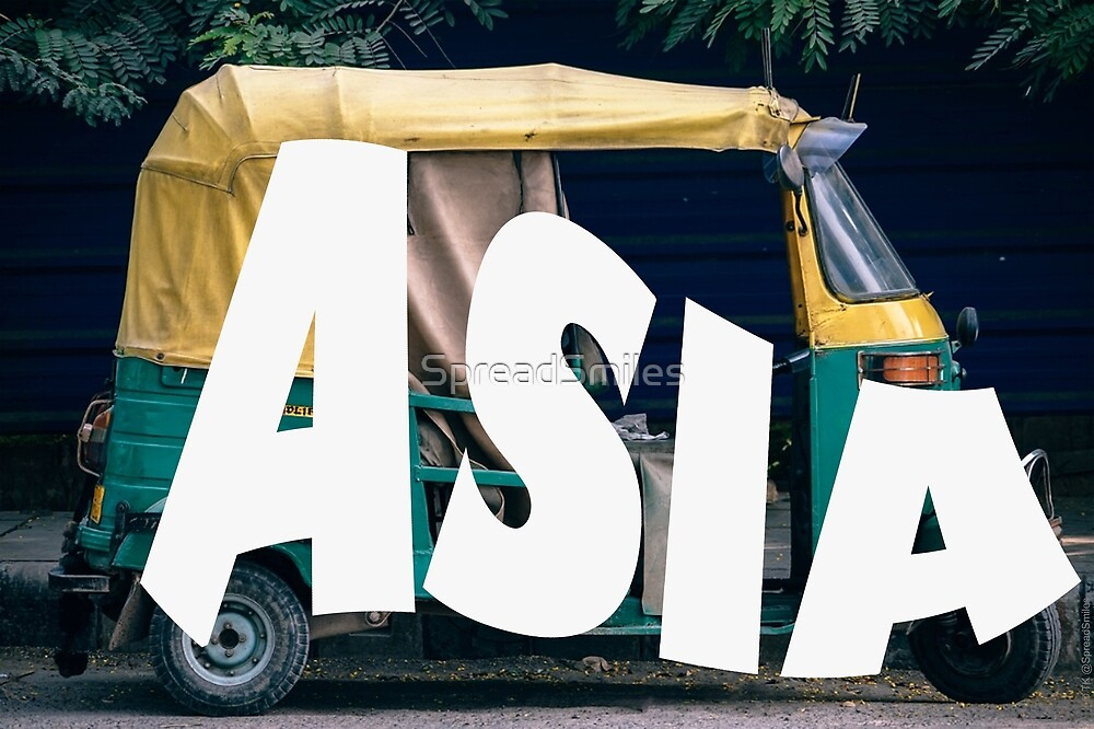 Asia Taxi by SpreadSmiles