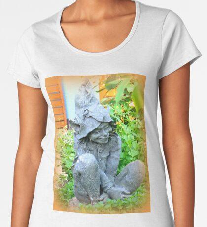 Happy Garden Elf Women's Premium T-Shirt