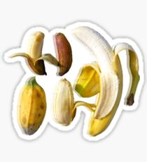 Bananas with Reflection Sticker