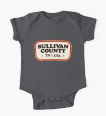 Sullivan County   Retro Badge One Piece - Short Sleeve