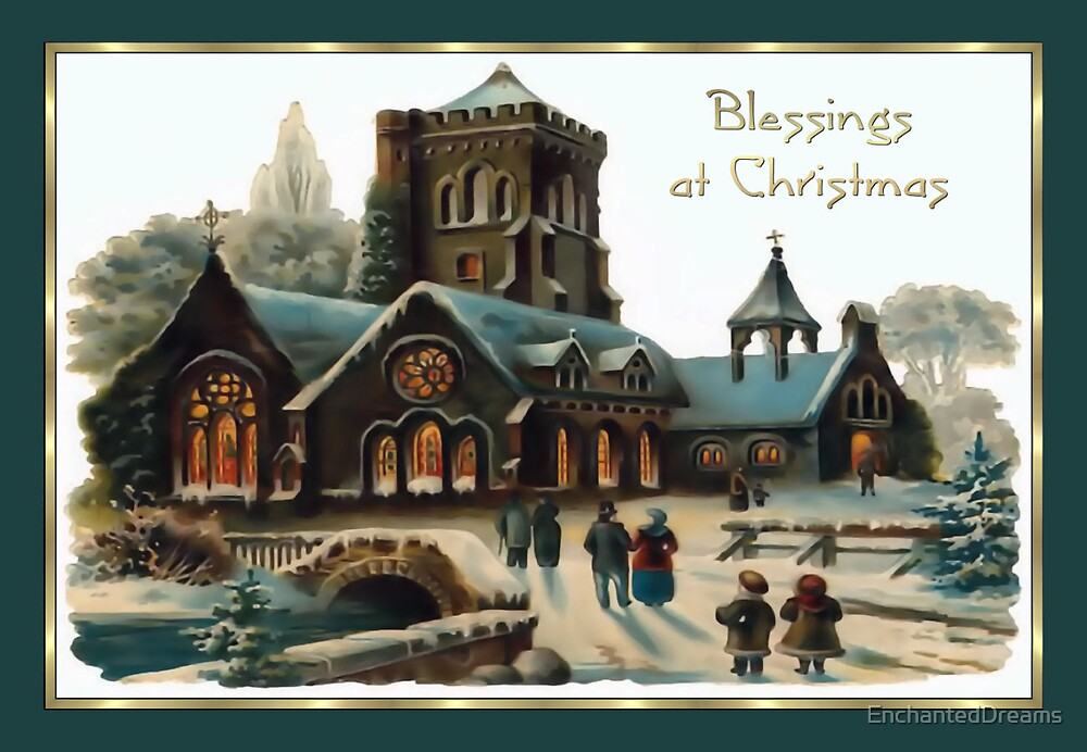 Blessings at Christmas by EnchantedDreams