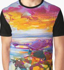 Uist Causeways 3 Graphic T-Shirt