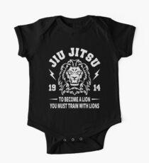 JIU JITSU - BECOME A LION - BJJ One Piece - Short Sleeve