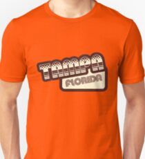 Tampa, Florida | Retro Halftone T-Shirt
