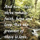 Faith, Hope, and Love by Samantha Higgs
