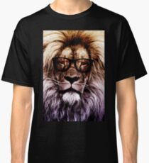 Hipster lion Classic T-Shirt