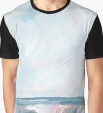 Perseverance - Stormy Sea Seascape Graphic T-Shirt