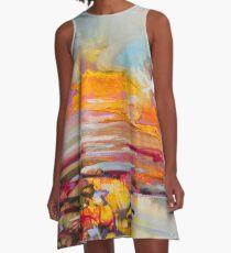 Uist Causeways A-Line Dress