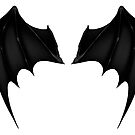 black demon wings vector by Starscoldnight
