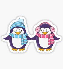 Cute penguin Twin Sticker