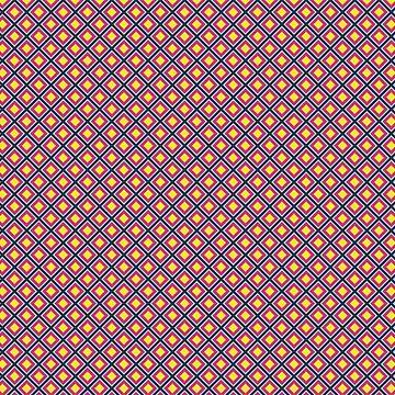 Colorful diamond pattern by Simut-P