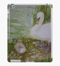 Swan and Cygnet iPad Case/Skin