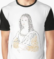La Joconde The Mona Lisa Graphic T-Shirt