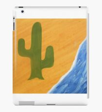 Cactus flower iPad Case/Skin